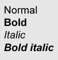typography definition in bold font definition from pc magazine encyclopedia
