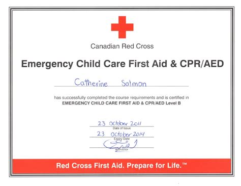 templates for first aid certificates image gallery emergency certificate
