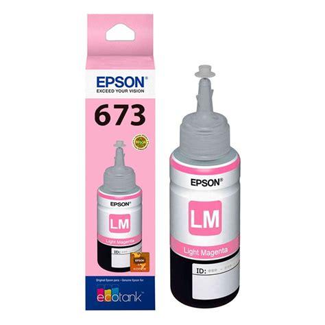 Tinta Untuk Epson L800 Tintas Epson T673620 Magenta Claro L800 Best Store