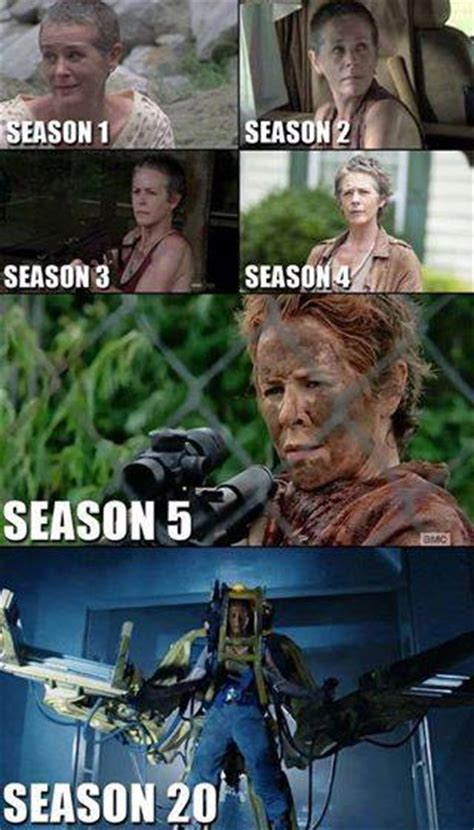 Carol Meme Walking Dead - the walking dead badass carol
