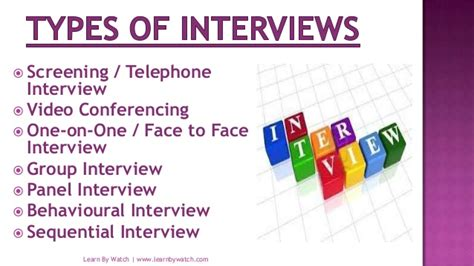 How To Prepare Resume For Job Fair by Types Of Interviews Devaughn Narratives