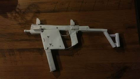 How To Make A Paper Smg - paper kriss vector