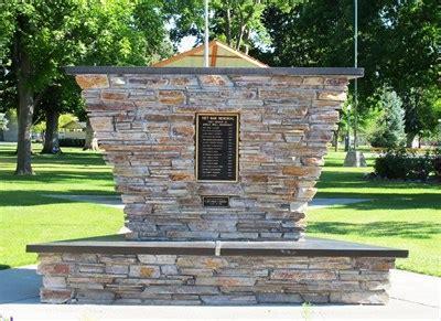 vietnam war memorial, city park, twin falls, id, usa