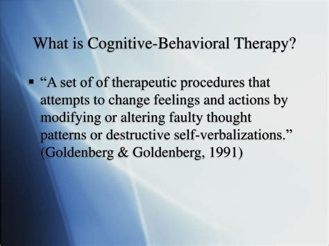 cognitive behavioral therapy for sexual dysfunction practical clinical guidebooks books ppt cognitive behavioral therapy powerpoint presentation