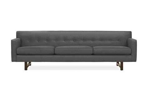 room and board andre sofa 10 easy pieces midcentury style sofas under 2 000