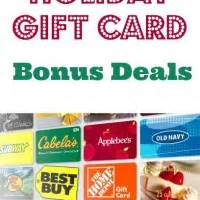 Gift Card Bonus 2014 - gift card archives debt free spending
