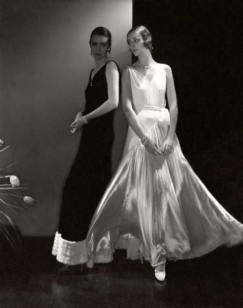 Vanity Fair Vogue by Putting On The Ritz Edward Steichen And Deco Fashion