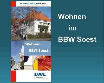 Wohnen Soest by Lwl Startseite Berufsbildungswerk Soest