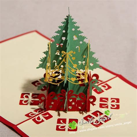Origami 3d Card - creative kirigami origami 3d pop up greeting gift