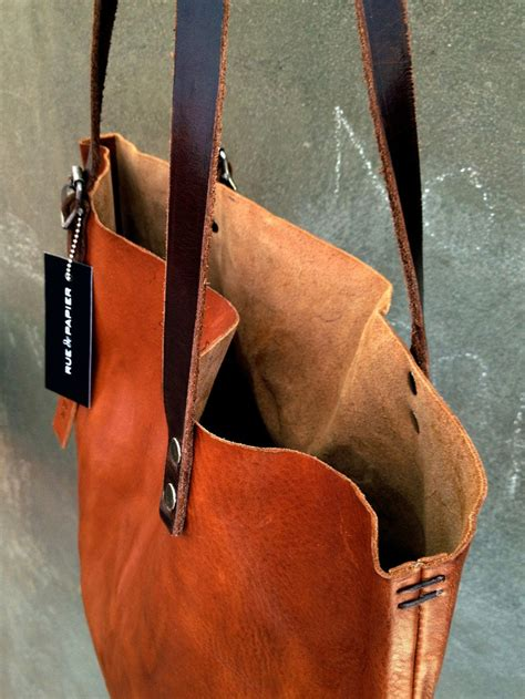 handmade italian leather bags collection in brown color