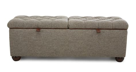 tweed ottoman tweed ottoman berneray bed storage ottoman harris tweed