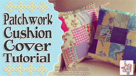 How To Do Patchwork Step By Step - learn to make basic patchwork cushion cover in step by