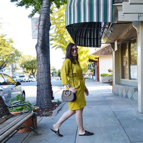 san francisco designers classic mustard wrap dress for fall by san francisco