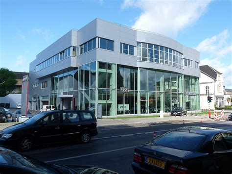Exterior Home Design Gallery Car Showroom In Luxembourg Luxembourg