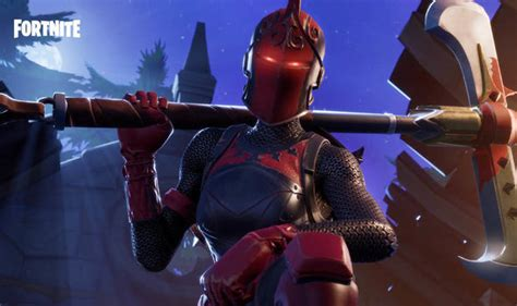 fortnite red knight returns      red knight