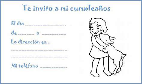 imagenes de invitaciones infantiles 99 invitaciones de cumplea 241 os para ni 241 os y ni 241 as para