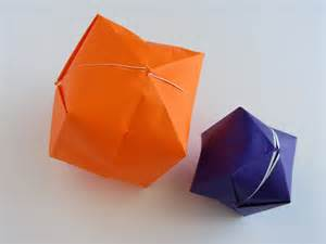 Origami Balloon - origami water balloon