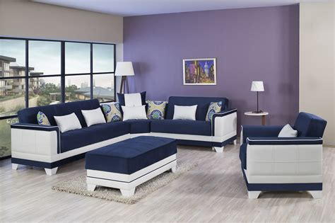 four seasons sofa four seasons riva blue sectional sofa by casamode