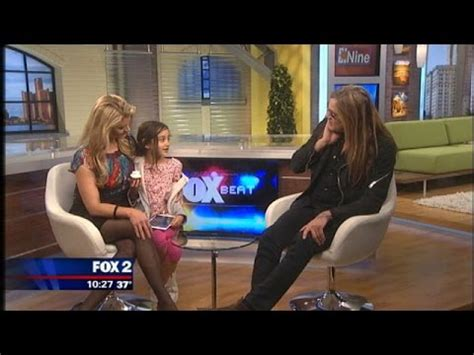 sebastian bach's daughter is the cutest youtube