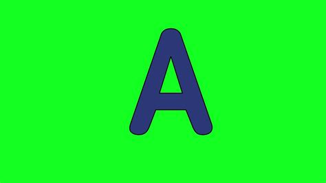 lettere animate animated quot letter a quot free to