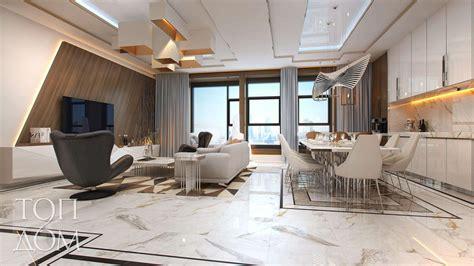 k dizain gallery 1 гостиная кухня и столовая с панорамным окном