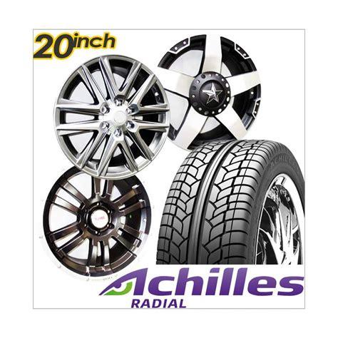 Paket Cicilan 4 Velg Racing 15 Inch 4 Ban 1856515 Achilles Jual Achilles Paket Cicilan 4 Velg Racing 20 Inch Pcd