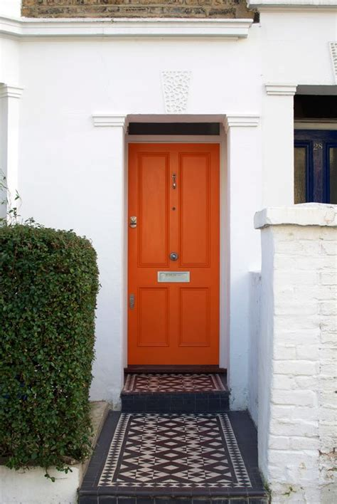 orange front door orange and pumpkin colored front doors front door freak