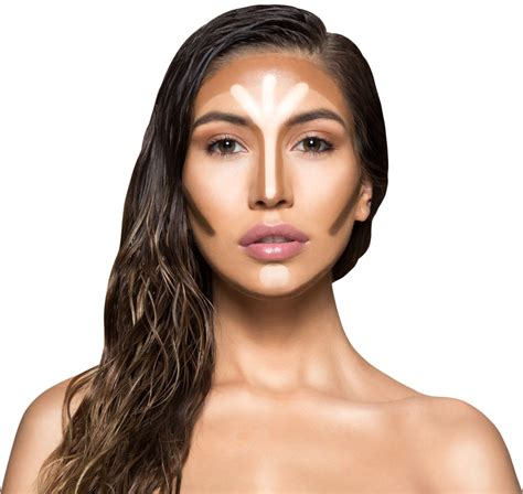 Where To Highlight Kkw Creme Contour Highlight Kit Sticks Blending