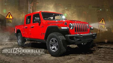 jeep for 2020 2020 jeep scrambler render looks ready for the real world