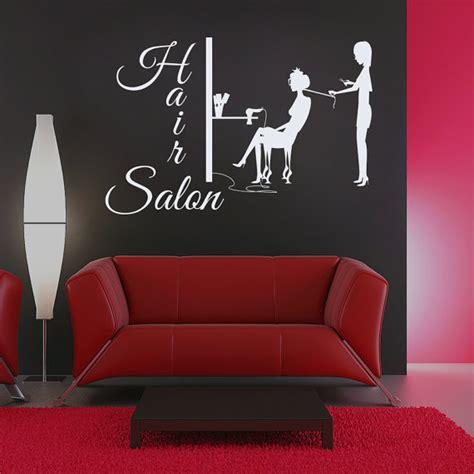 Hair Salon Wall Decor by Wall Decal Hair Salon Sign Murals Hairdresser Hairstyle Hair
