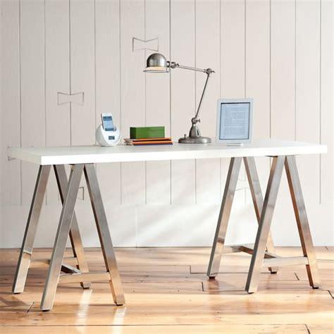 simple white desk customize it simple a frame desk pbteen