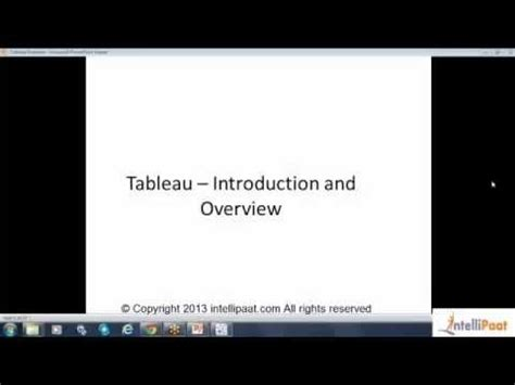 tableau tutorial on youtube tableau developer online training course youtube