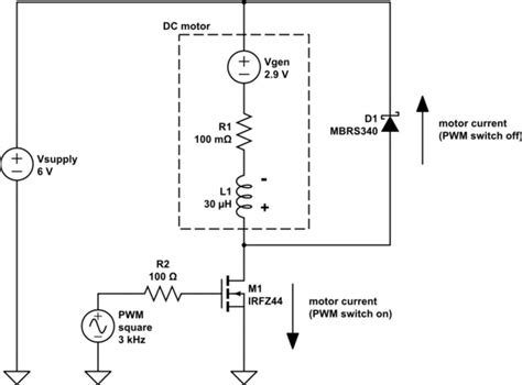 back emf protection diode what is the path taken by the back emf current electrical engineering stack exchange