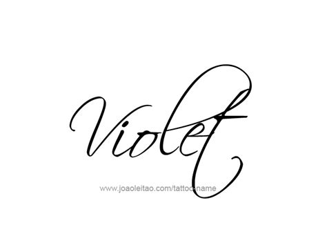 tattoo name viola violet color name tattoo designs design color tattoo