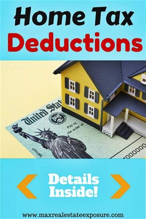 tax deductions buying a house tax advantages of owning a home