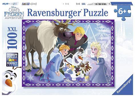disney frozen olaf s adventures 100 jigsaw