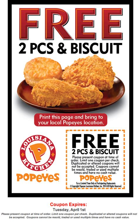 popeyes printable coupon special popeyes chicken coupons canada coupon code for compact