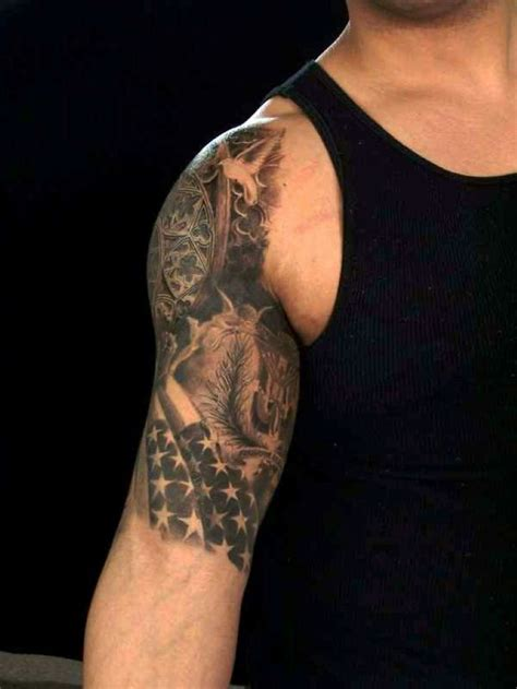 american quarter sleeve tattoo half sleeve tattoos designs tattoo pinterest sleeve