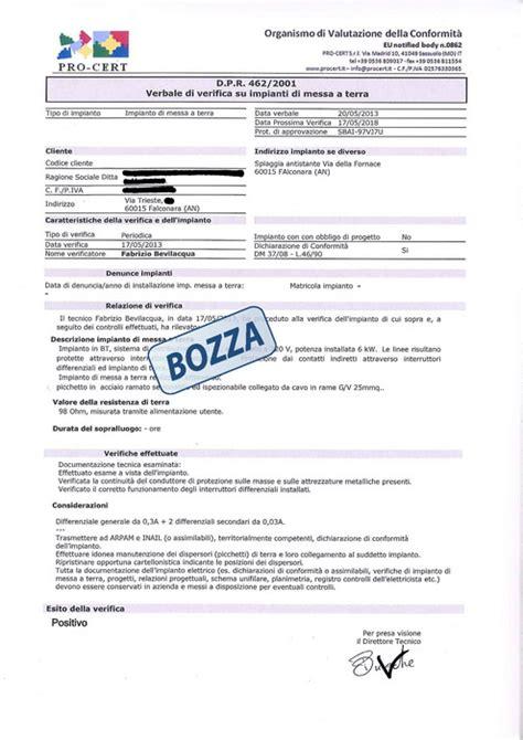 codice sede inail denuncia impianto elettrico di cantiere inail