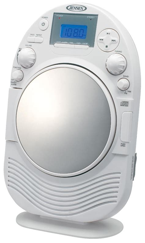 best bathroom radio amfm stereo shower radio and cd player with fog resistant