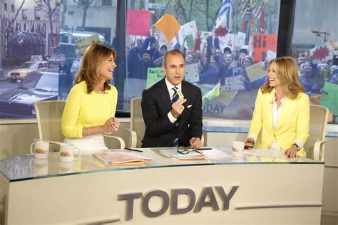 Todays Shows by Matt Lauer Co Anchor Today
