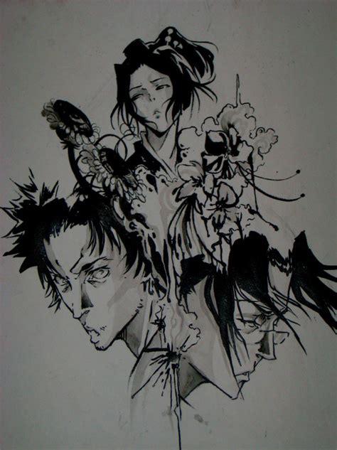 mugen tattoo samurai chloo by idiotxcrossing656 on deviantart