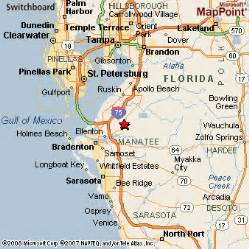 Parrish Florida Map by Parrish Florida