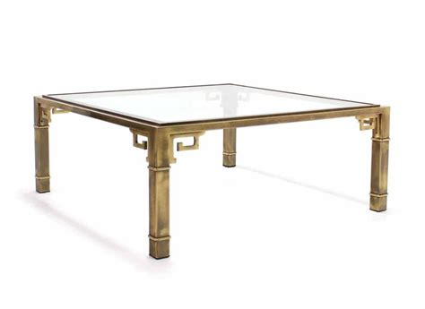 large square craft table large square mastercraft key coffee table for sale