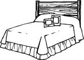 bed 30 free printable bedroom furniture coloring pages