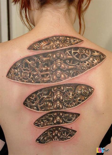 under skin tattoo 20 mind bending optical illusion tattoos luvthat