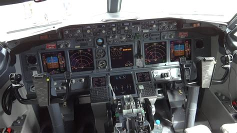 boeing 737 ng cockpit in hd cabina boeing 737 ng en hd - Cabina Boeing 737
