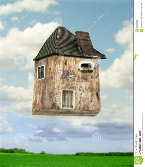 flying house flying house stock photography image 26721932