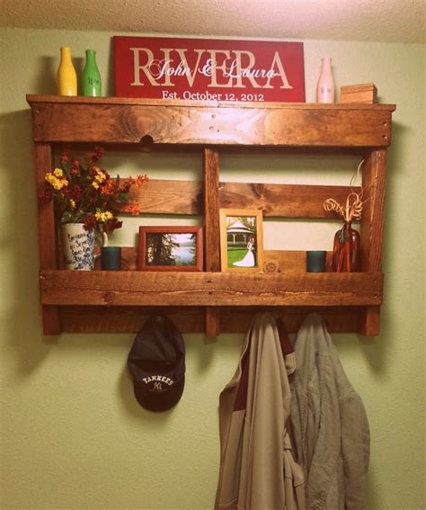 diy pallet shelves palette shelf by cyw cultivate your wellness