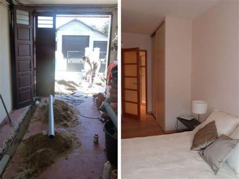 am駭agement garage en chambre une chambre tout 233 quip 233 e en lieu et place d un garage